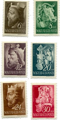 stamps-hu-kings-1942