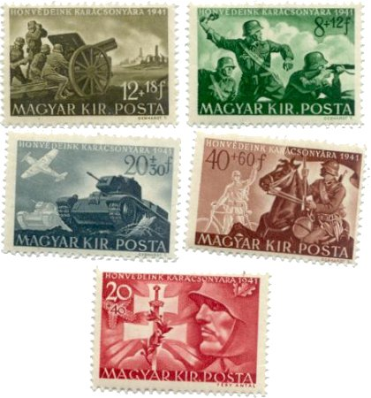 stamps-hu-mil-1941