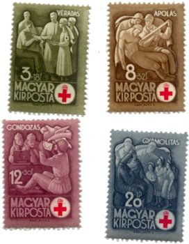 stamps-hu-redcross-1942