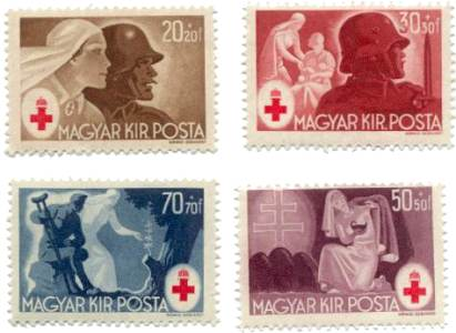 stamps-hu-redcross-1944