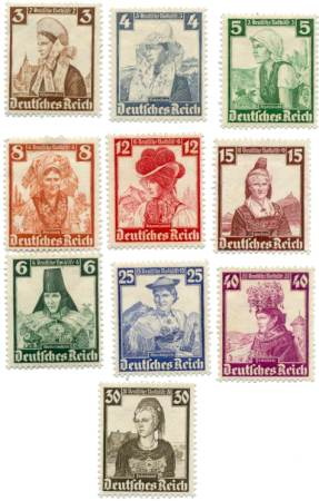 stamps-native-costumes