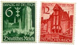stamps-various-danzig-1939